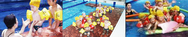 夏休み短期水泳教室 / 春休み短期水泳教室