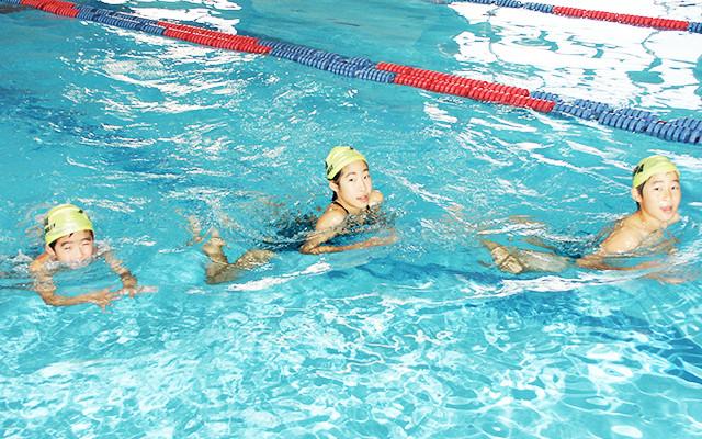 安全水泳プログラム