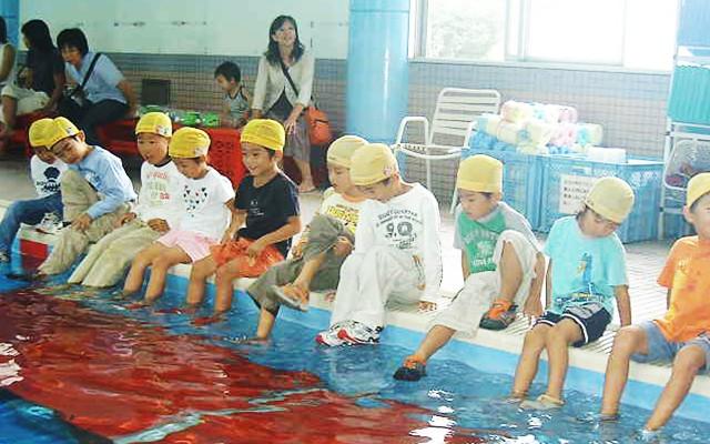 着衣水泳教室について